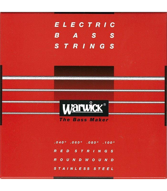 WARWICK BAS RED 4 žičani ML40/100 ŽICE