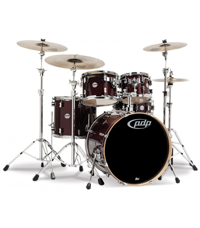 BUBANJ PDP CONCEPT MAPLE TRANSPARENT CHERRY (22,10,12,16,14)+HW