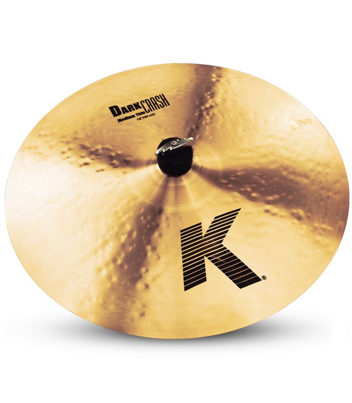 ÈINELA ZILDJIAN K DARK MEDIUM  THIN CRASH 16""