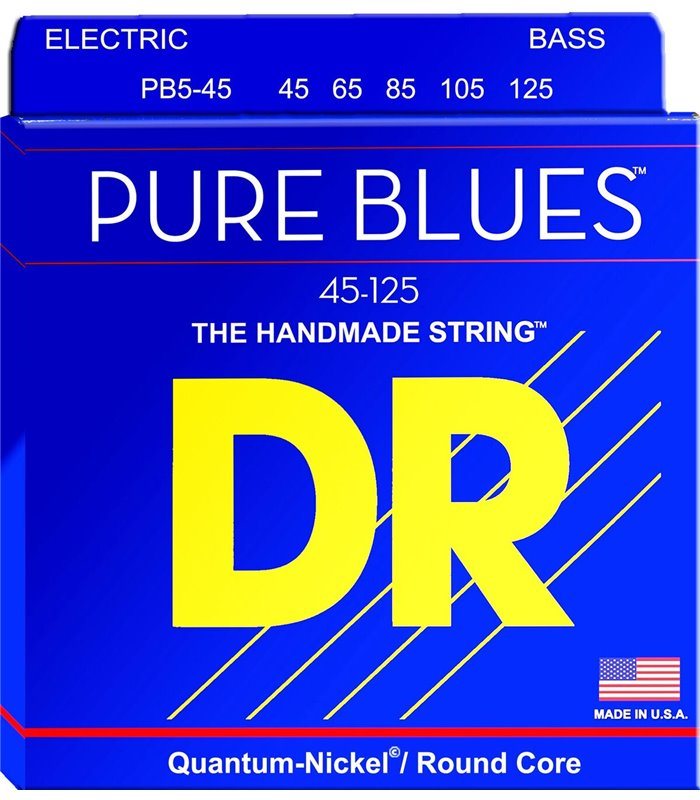 ŽICE DR PB5-45 45-125 5string Pure Blues