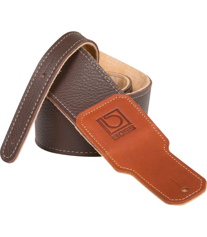 "REMEN BOSS BSL-30-BRN 3"" brown premium leather"