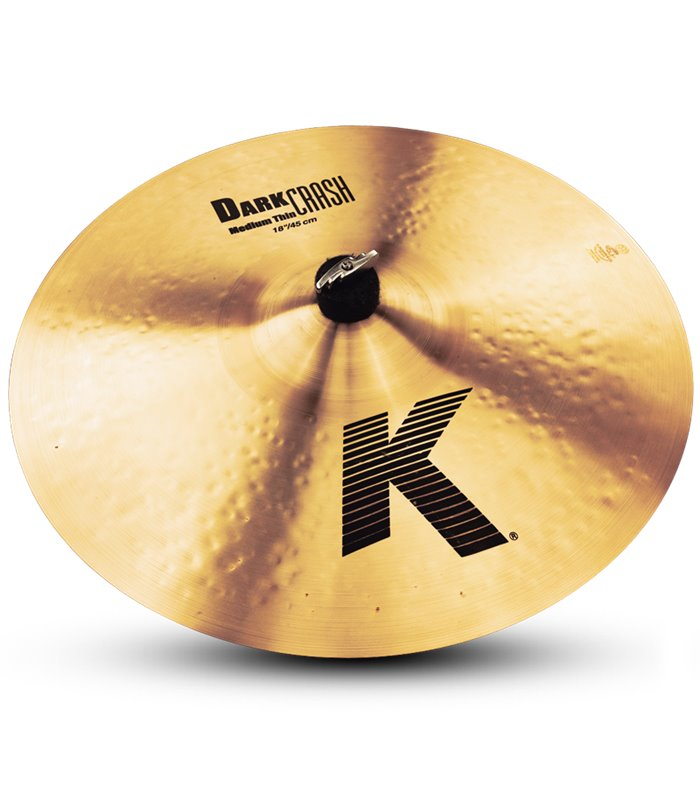 ÈINELA ZILDJIAN K DARK MEDIUM  THIN CRASH 17""