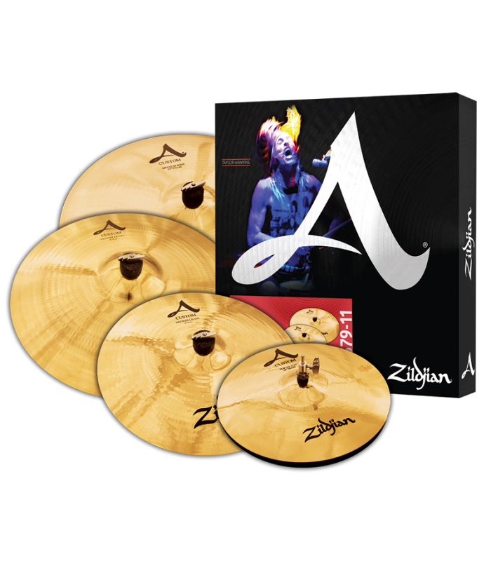 ČINELE ZILDJIAN A-CUSTOM BOX SET 390