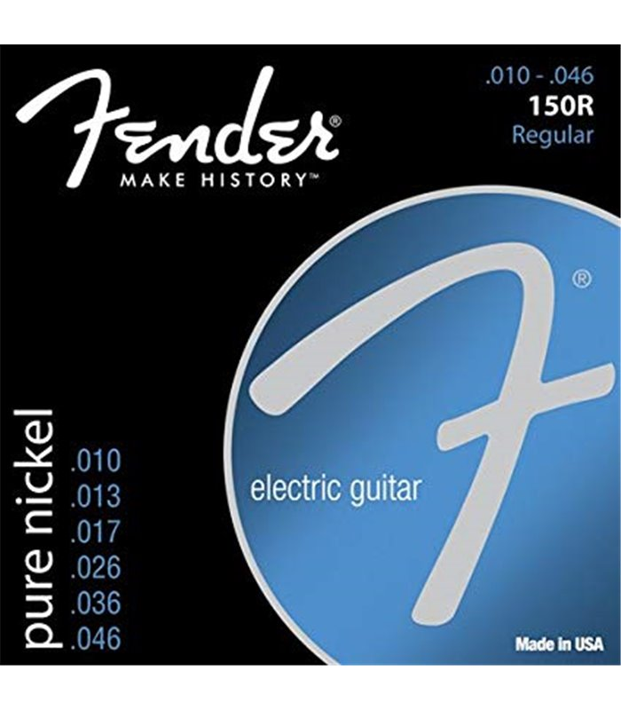 FENDER ELEKTRIKA 150R PURE NICKEL BALL END 10-46 ŽICE