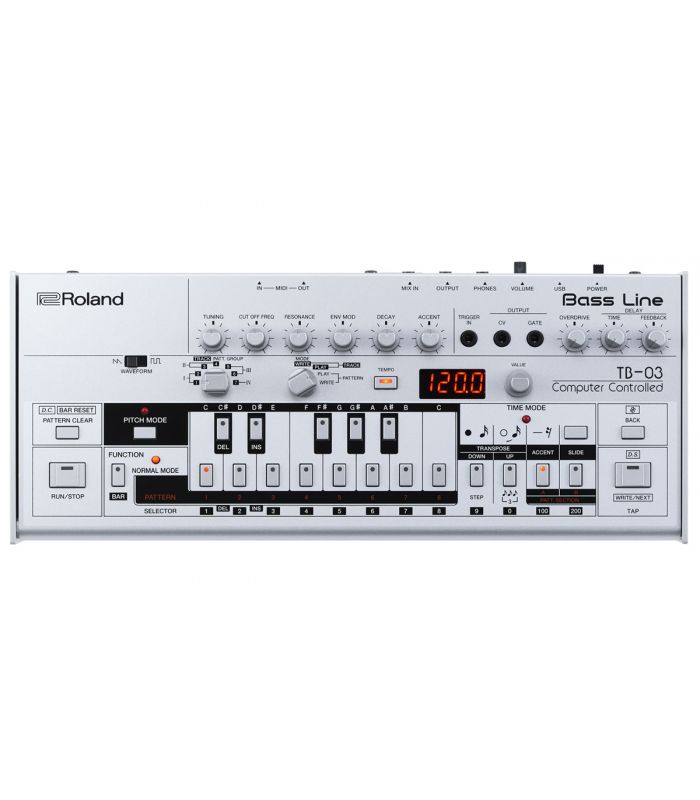 SYNTHESIZER ROLAND TB-03 SOUND MODULE