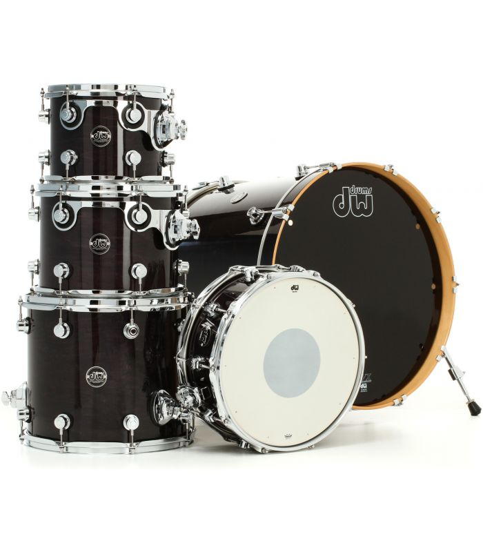 BUBANJ DW PERFORMANCE EBONY STAIN (22,10,12,16,14) SHELL SET