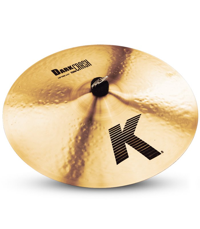 ČINELA ZILDJIAN K DARK THIN CRASH 18""