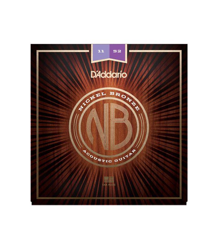 DADDARIO AKUSTIKA NB1152 nickel bronze 11-52 ŽICE