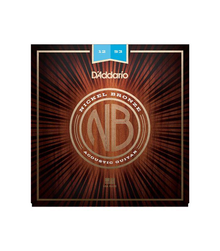DADDARIO AKUSTIKA NB1253 nickel bronze 12-53 ŽICE