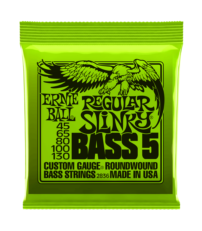 ŽICE ERNIE BALL BAS ROUNDWOUND 5 STRINGS 45-130