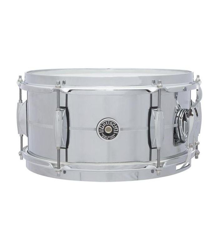 SNARE GRETSCH USA BROOKLYN GB4165S Chrome Over Steel