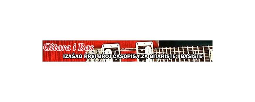 Gitara i bas - izašao prvi broj časopisa za gitariste i basiste