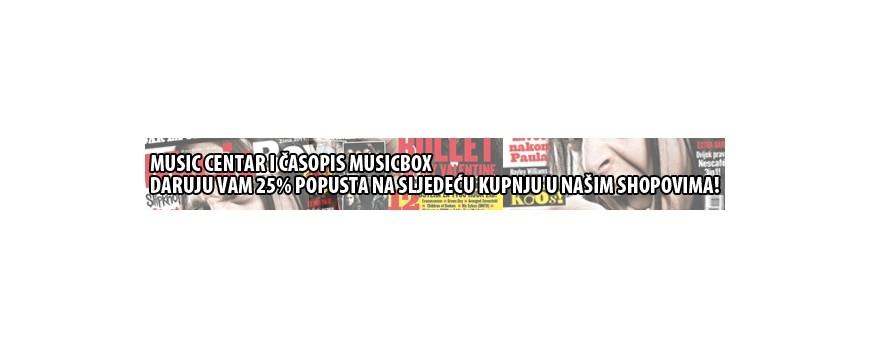 MUSIC CENTAR I MUSICBOX NAGRAĐUJU!!!