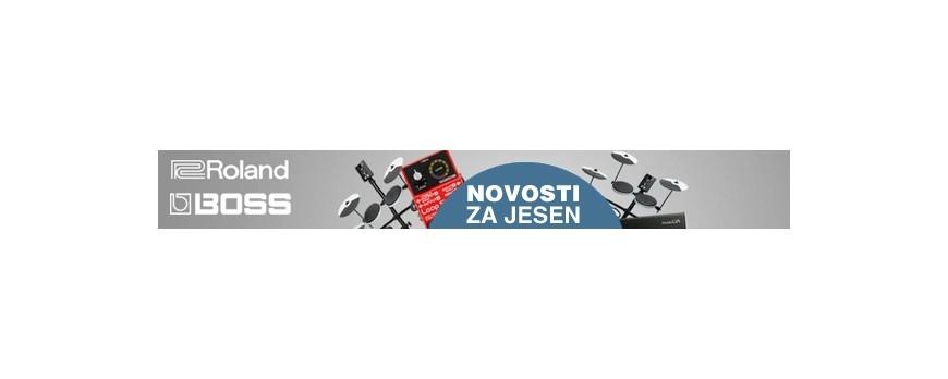 ROLAND I BOSS NOVOSTI ZA JESEN 2014.