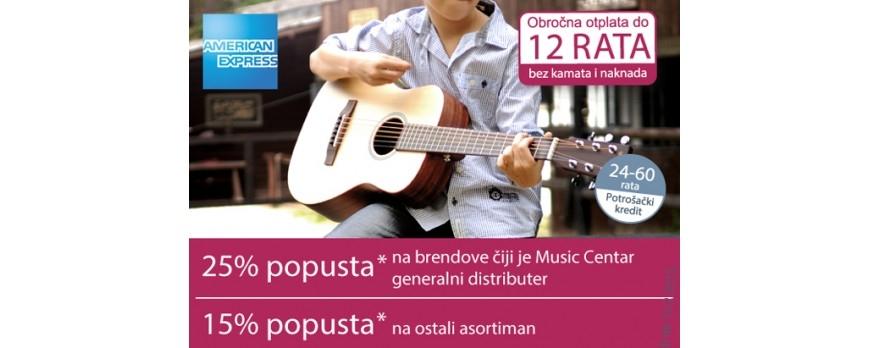 AMEX AKCIJA MUSIC CENTAR