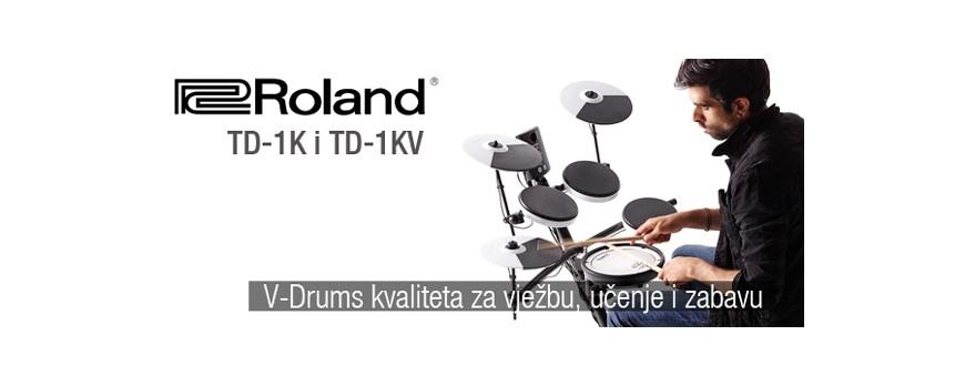 Roland td1k i td1kv idealan elektronac po pristupačnoj cijeni