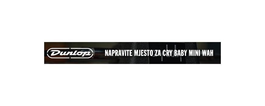 Napravite mjesta za Dunlop Cry Baby Mini