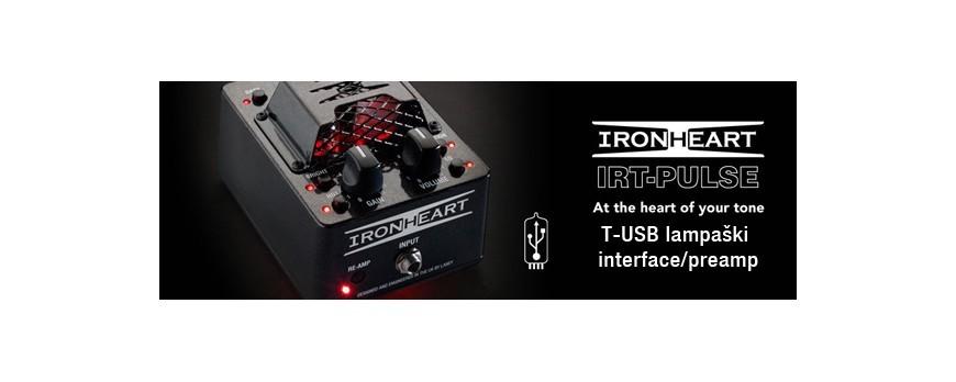Laney IRT Pulse USB Lampaški preamp/interface za gitariste