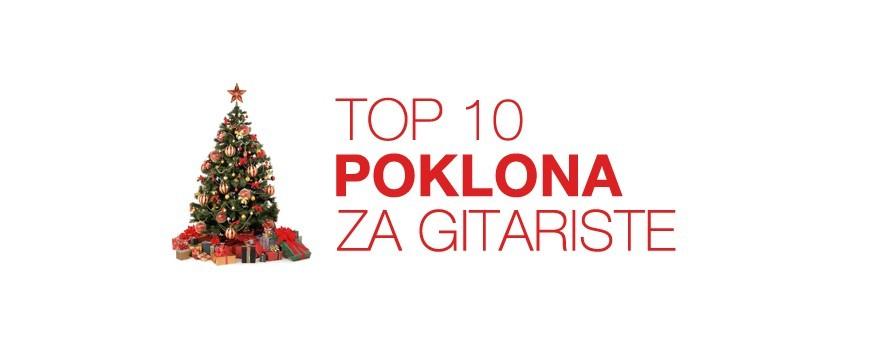 TOP 10 Poklona za gitariste za Božić