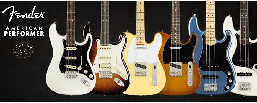 Nova Fender American Performer serija gitara