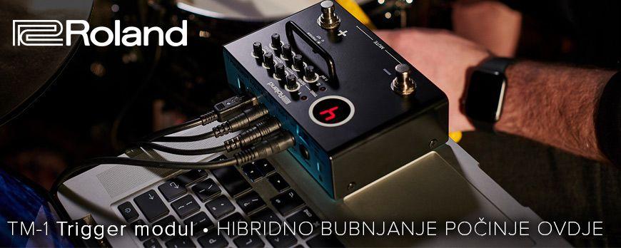 """Roland TM-1 - vaš ulazak u svijet """"Hybrid"""" bubnjeva"""