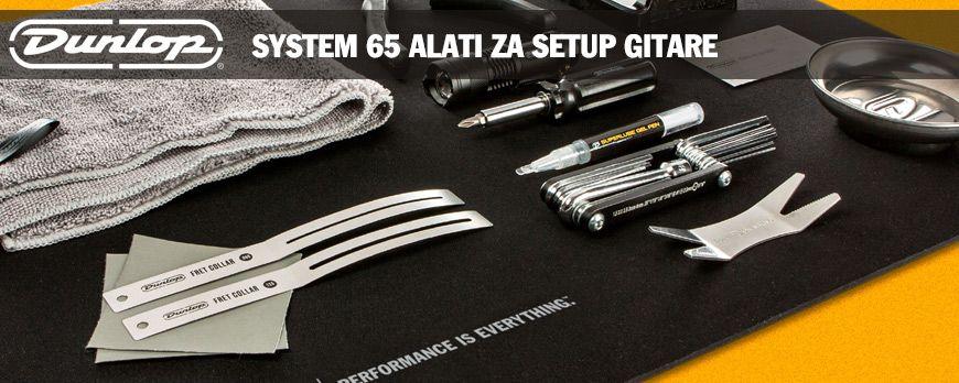 Dunlop System 65 alati za gitariste