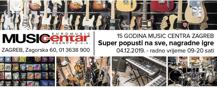 15 godina Music Centra Zagreb - super popusti i nagradne igre samo 4. prosinca u poslovnici Zagreb