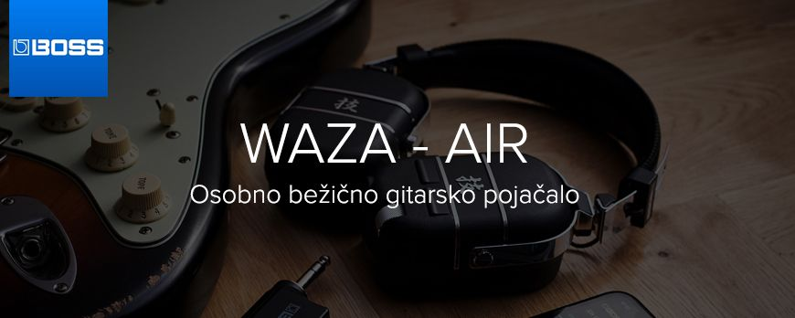 Boss Waza Air - vaše osobno bežično gitarsko pojačalo