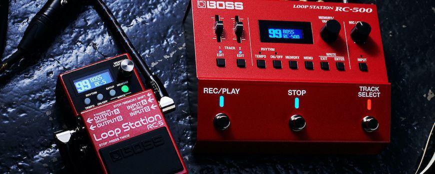 Nova generacija Boss looper pedala