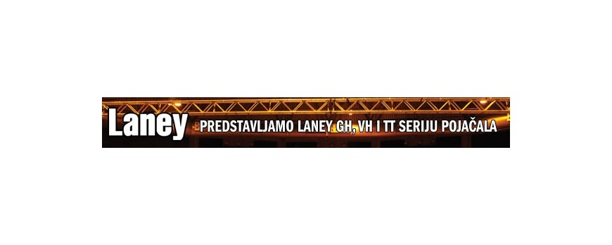 Predstavljamo Laney GH, VH i TT seriju pojačala